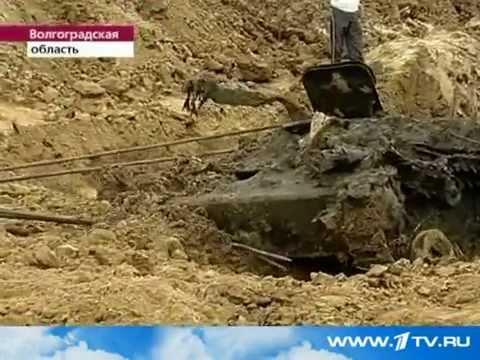 Танк Т-60 нашли в реке Добрая