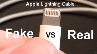 getlinkyoutube.com-Fake VS Real: Apple Lightning Cable
