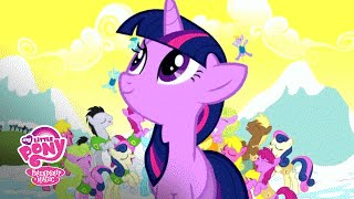 getlinkyoutube.com-MLP: Friendship is Magic – The Mane 6 Sing 'Winter Wrap Up' Official Music Video