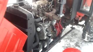 getlinkyoutube.com-T25-3p perkins, praca silnika Montaż CDN...