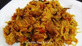 getlinkyoutube.com-Mutton Biryani Recipe - Mutton Biryani in tamil by Healthy Food Kitchen