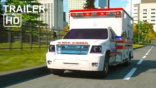 getlinkyoutube.com-Florence the Ambulance and Ross the Race Car - Trailer -  Real City Heroes (RCH) Videos for Children
