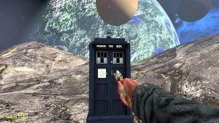 getlinkyoutube.com-Garry's Mod: Tardis flying through Space