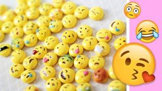 getlinkyoutube.com-MAKING ALL 56 SMILEY EMOJIS! ☺ DIY Polymer Clay Tutorial