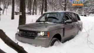 getlinkyoutube.com-Land Rover Discovery LR 4 Takes on a Vermont Winter