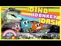 The Amazing World Of Gumball - Dino Donkey Dash - Gumball Games