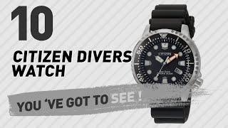 Citizen Divers Watch Top 10 // New & Popular 2017 width=
