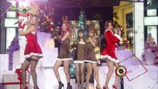 getlinkyoutube.com-[kbs world] 뮤직뱅크 - EXID, Happy Christmas.20151225