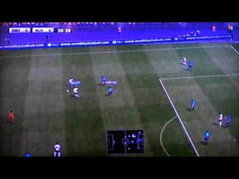 PES 2012 Attacking Advanced Tutorial - Maintain Vertical Spacing