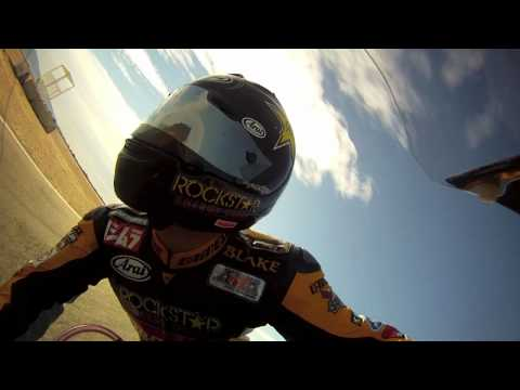ON-BOARD WITH ROCKSTAR MAKITA SUZUKI'S BLAKE YOUNG