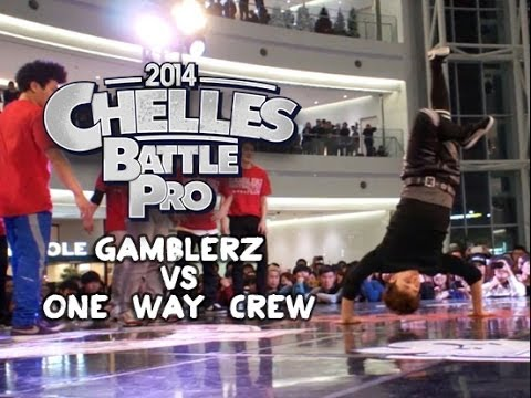 Gamblerz vs One Way Crew | STRIFE. | Chelles Battle Pro Korea 2014