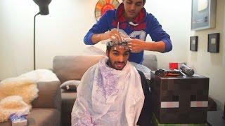 تحدي الصلعة - الي ينهزم يحلق صلعة ! - ضد اخوي تامر حسني ((= ❤❤