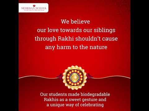Biodegradable Rakhis