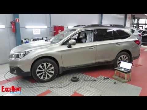 Excellent R'evolution 5 Subaru Outback 2016 Защита от угона