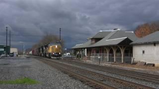 getlinkyoutube.com-Norfolk Southern Mainline Action on the Harrisburg Line Late Fall 2011