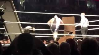 getlinkyoutube.com-Wwe Roman Reigns vs Big Show liveindia match