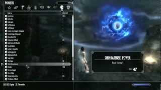 getlinkyoutube.com-Gameplay Skyrim: Bleach + Naruto Mods