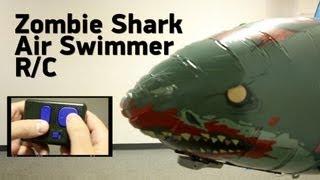 getlinkyoutube.com-Zombie Shark Air Swimmer R/C from ThinkGeek