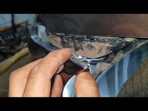 Хонда цивик снятие переднего бампера