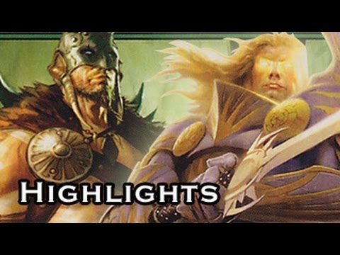 Magic the Gathering Highlights Wolf Run Vs Solar Flare Game01 (10-21-2011)