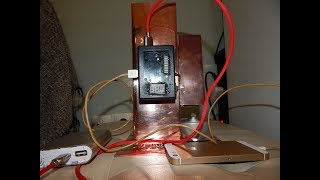 DIY 10W  Electric generator Powered by fire!100% Copper 2 Outputs  USB and 1 adjustable volts  1-32V
