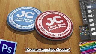 getlinkyoutube.com-Crear un Logo Circular Rojo en Photoshop.