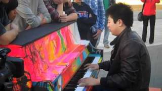getlinkyoutube.com-Lang Lang gives impromptu performance for students before Pacific Symphony concert