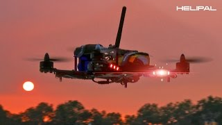 getlinkyoutube.com-Storm Racing Drone Flying on River - HeliPal.com