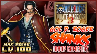 getlinkyoutube.com-ONE PIECE: Pirate Warriors 3 | Gol D. Roger Shanks Level 100 Gameplay「ワンピース 海賊無双3」
