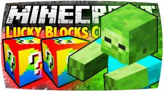 getlinkyoutube.com-MINECRAFT: LUCKY BLOCKS CHALLENGE - GIANT   Nunan » Lucky Block Mod Battle Deutsch