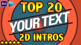 getlinkyoutube.com-TOP 20 FREE 2D INTRO TEMPLATES (After Effects, Sony Vegas) Downloads + Tutorial