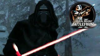 getlinkyoutube.com-Star Wars Battlefront II Mods (PC) HD: Alzoc III: Blizzard | GCW II: The Force Awakens