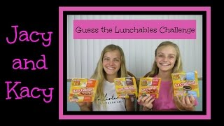 getlinkyoutube.com-Guess the Lunchables Challenge ~ Jacy and Kacy