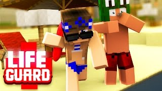 getlinkyoutube.com-Minecraft Baywatch - SWIMMING TO SAVE A BOYS LIFE! #1 with / Little Carly