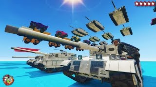getlinkyoutube.com-GTA 5 FIRST EVER TANK WALL RIDE - GTA 5 Online BEST EVER SAND BOX!! - GTA 5 FUNNY MOMENTS & FAILS