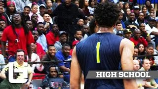 getlinkyoutube.com-Miles Bridges CALLS OUT Oak Hill: Drops 35 & 10 in Championship!
