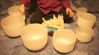 getlinkyoutube.com-Crystal Bowl Chakra (70 Min.) Meditation C to B ~ Low to High Tones