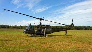 getlinkyoutube.com-NO DOORS!!!  Flight in a vintage Huey Helicopter
