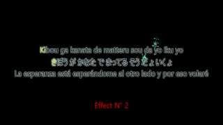 getlinkyoutube.com-[61][Aegisub Karaoke] Meave FX - StarPix Cascade + Word Fade
