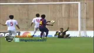 getlinkyoutube.com-Barcelona B (+Luis Suarez) vs Indonesia U-19: 6 0 By @SepakbolaOnTV