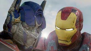 getlinkyoutube.com-IRONMAN vs OPTIMUS PRIME - Super Power Beat Down (Episode 18)