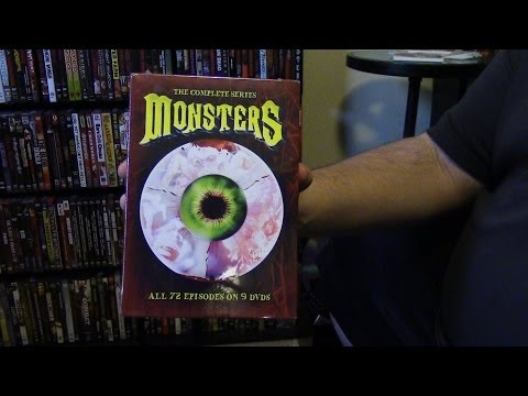 Monsters TV Show Complete Series DVD Release Review - 80s Television Series