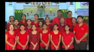 getlinkyoutube.com-Christmas carols and Christmas Message by Bondel Parish, Mangalore Diocese.