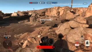getlinkyoutube.com-Gameplay - Star Wars Battlefront - Single Player - Offline