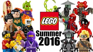 Top 20 Most Wanted LEGO Sets of Summer 2016!