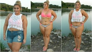 getlinkyoutube.com-The Curvy Diaries: Summer Beach Day | Plus-Size OOTD