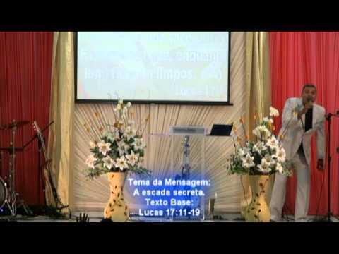 Pregação evangélica - IEUA - Serie de mensagem - A escada secreta