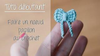 getlinkyoutube.com-Noeud papillon au crochet pour débutant / Crochet easy bow tie