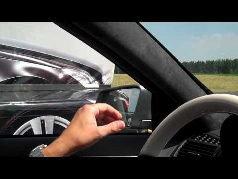 Blind Spot Assist demonstration