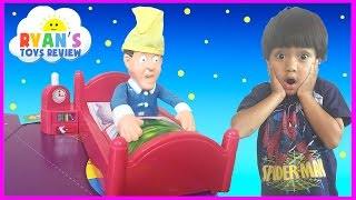 getlinkyoutube.com-Don't Wake Daddy Family Fun Games For Kids Egg Surprise Toy Car Ryan ToysReview
